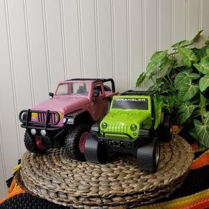 2 Jeep Toy Wranglers